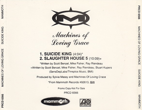 Suicide King Single Promo - 1995